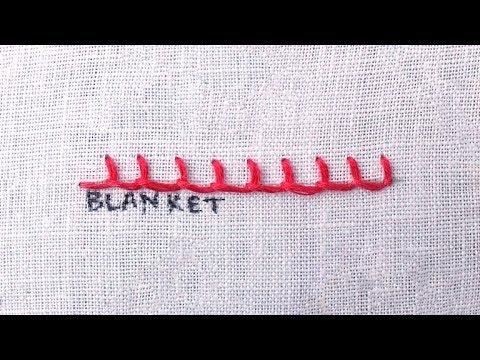 How To Do A Blanket Stitch