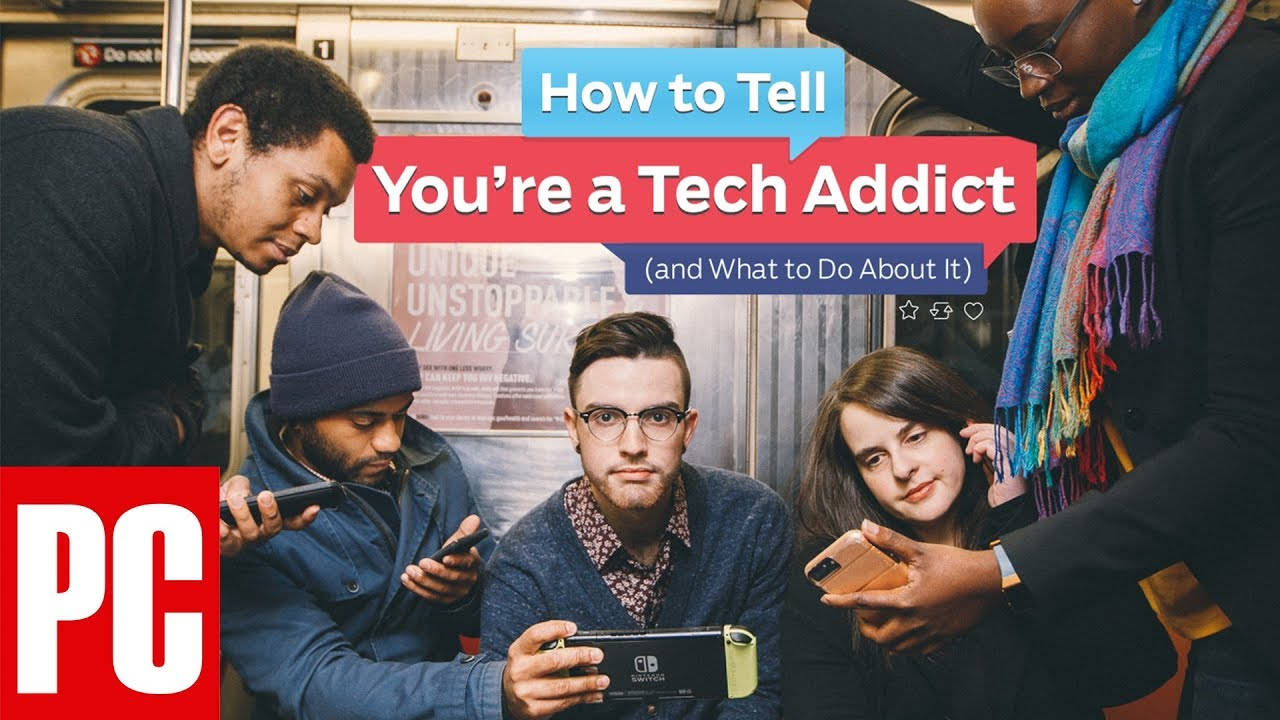 The Endless Scroll: How to Tell if You're a Tech Addict