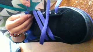 How to Lace your shoes (spider-web style)