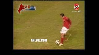 شاهد هدف عالمي لتريكة في مرمي المقاولون العرب بتاريخ 11 يناير 2007