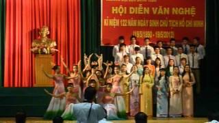 """DHSAN09 Hoa Sen, giải nhất """"Lời ca dâng Bác"""" 2011-2012"""