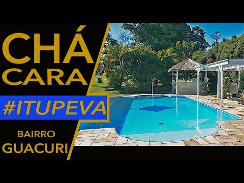Chácara em ITUPEVA no Bairro do GUACURI com Piscina e Campo Society - AT: 5.000m² e AC: 420m²