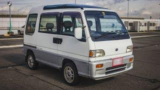 1992 Subaru Sambar Dias - Automatic transmission - Walk-around and test drive