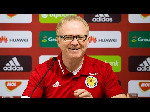 Alex McLeish Press Conference | Hungary v Scotland