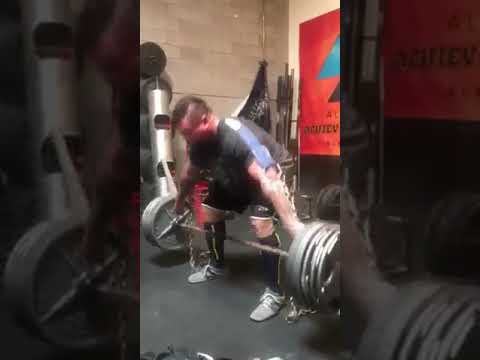 Jerry Pritchett - Deadlifts with the Barbell Strap