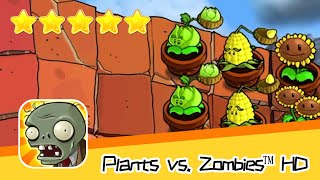 Plants vs  Zombies™ HD ROOF Level 07 Day1 Walkthrough The zombies are coming! Recommend index five s