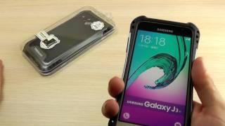"""ОБЗОР: Усиленный Чехол-Накладка для Samsung Galaxy J3 SM-J320 (J3109) 2016 года """"Caseology"""""""