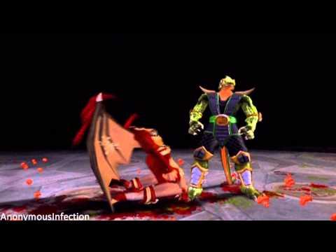 Mortal Kombat: Deadly Alliance - Reptile's Fatality