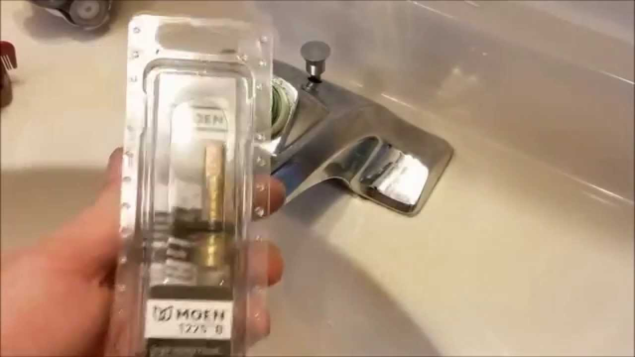 how to fix a leaky moen faucet youtube
