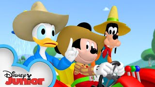 Mickey and Friends Look for Farm Animals | Mickey Mornings | Mickey Mouse Clubhouse | Disney Junior