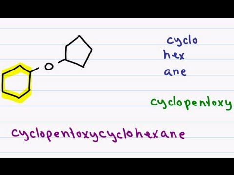 Naming Ethers Using IUPAC Nomenclature And Common Names In Organic Chemistry