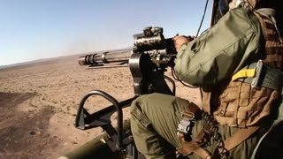 UH-1Y Huey Helicopter Aerial Gun Shoot - M134 Minigun and GAU-21 Machine Gun | AiirSource