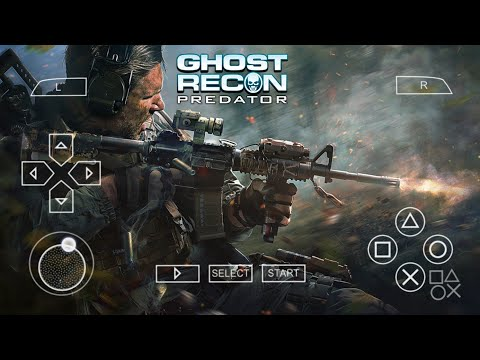 How To Download Game Tom Clancy's Ghost Recon Predator (Lite) PPSSPP For Android