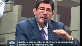 Ministro Joaquim Levy fala sobre medidas tributárias (@FazendaGovBr)