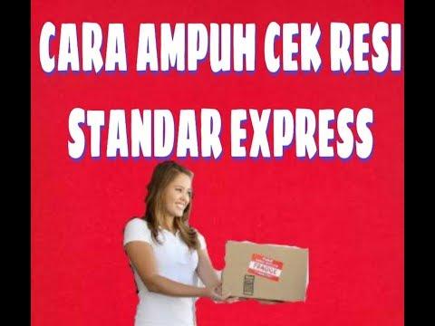 TUTORIAL CEK RESI STANDAR EXPRESS..