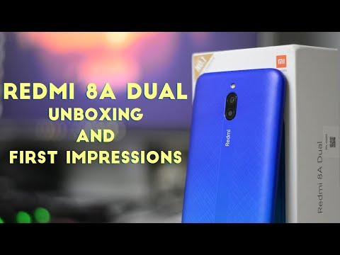 Redmi 8A Dual Unboxing and First Impressions!