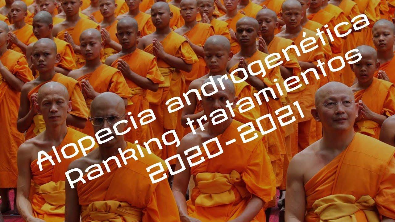 Ranking tratamientos alopecia androgenetica 2020 - 2021
