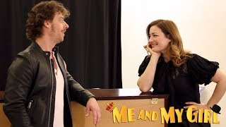 Go inside rehearsals with Christian Borle (Bill Snibson) and Laura ...