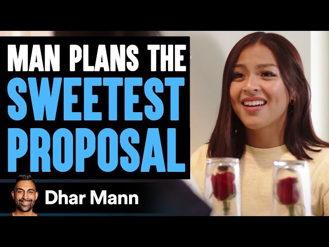 The Sweetest Proposal That Will Melt Your Heart | Dhar Mann