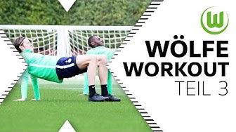 Wölfe Workout! - Fitness für zu Hause (Teil 3) | VfL Wolfsburg