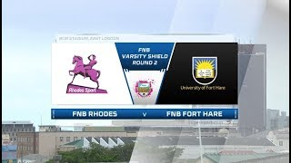 FNB Varsity Shield | Round 2 | Rhodes vs Fort Hare