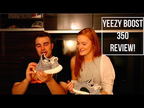 Girlfriend Reacts To The Yeezy Boost 350!