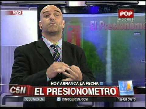 C5N -  FUTBOL:  EL PRESIONOMETRO DE LA FECHA 13