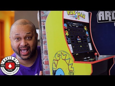 I Got My Own Arcade Machine! Arcade 1 Up Pacman Review