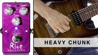 SUHR RIOT RELOADED™ - HEAVY CHUNK
