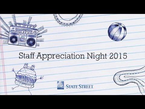 State Street Singapore - Staff Appreciation Night 2015  -  Trailer