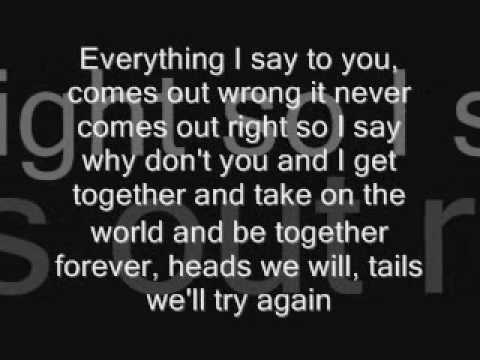 Why Don't You And I Lyrics- Alex Band from The Calling feat. Santana