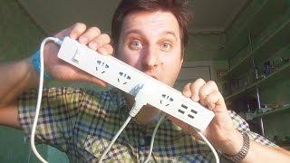 ОТЛИЧНЫЙ удлинитель ORICO (4 розетки + 4 USB) ► ОБЗОР и РАЗБОРКА