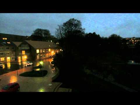Autumn storm in Denmark (Aarhus University) 28.10.13