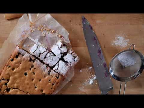 How To Make The Best Almond Blueberry Bars | Blueberry Bars Recipe