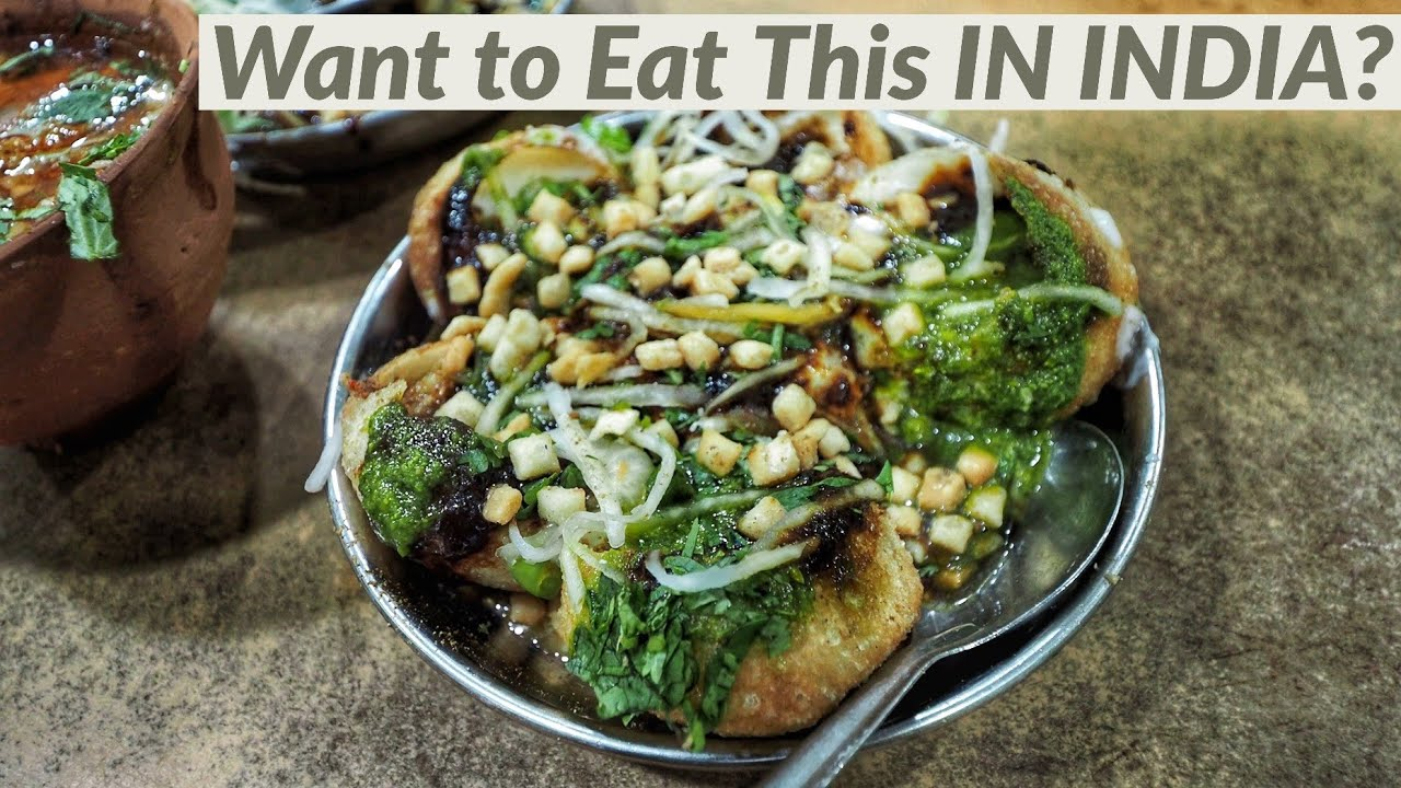 """Indian Street Food """"Chaat"""" Basics for Foreigners"""