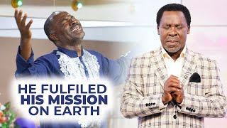 T.B JOSHUA DEATH: Ritabbi's Prophecy About His Death And Tribute