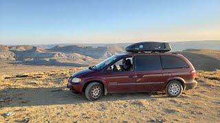 Free Camping in Wyoṁing | Minivan Camper Adventures