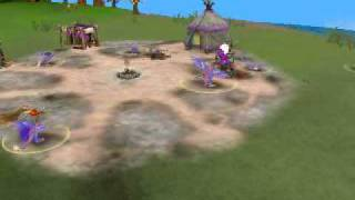 Spore gameplay attack