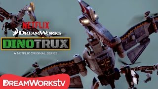 The Pteracopter Takeoff! | DINOTRUX