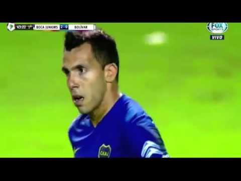 Boca Juniors vs Bolivar 3 1 Copa Libertadores 07 04 2016