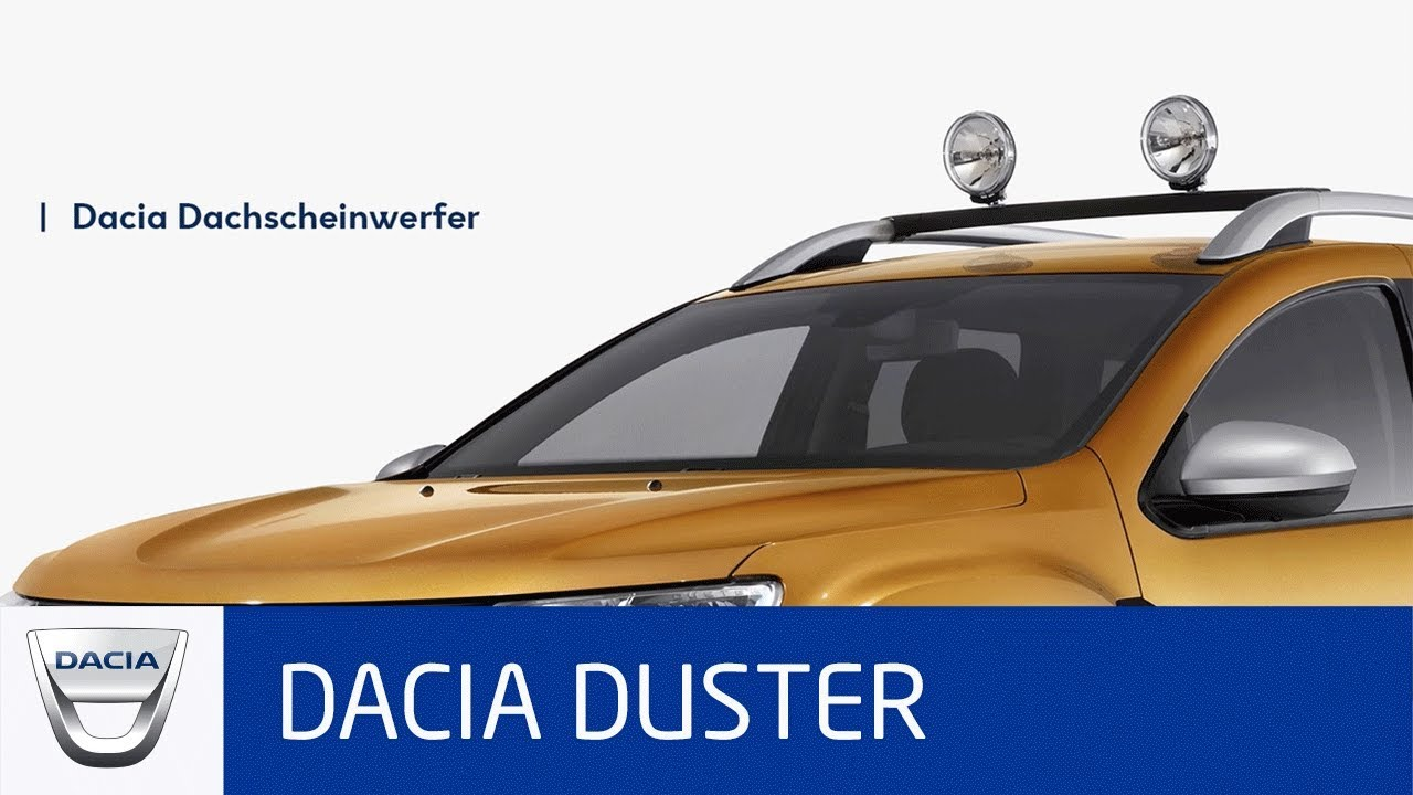 dacia duster zubeh r scheinwerfer youtube. Black Bedroom Furniture Sets. Home Design Ideas