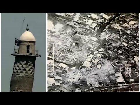 من فجّر منارة الحدباء ومسجد النوري في الموصل؟  - نشر قبل 3 ساعة