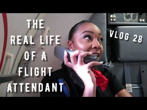 The 'Real Life' of a Flight Attendant | Vlog 28 | EAST TO WEST COAST!