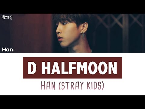 Han/Jisung (Stray Kids) - D (Half Moon) [han|rom|eng Lyrics/가사]