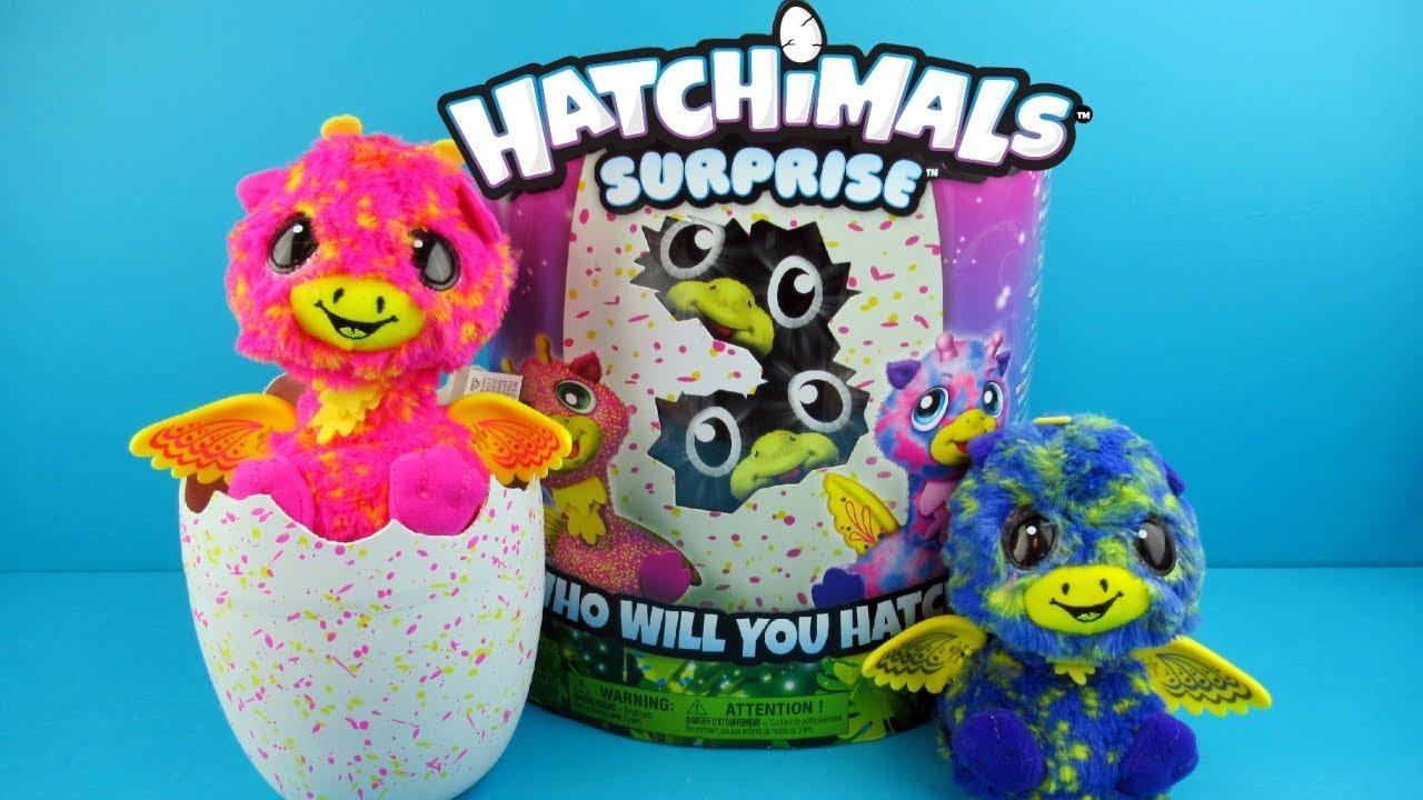 Hatchimals Surprise Giraven Twins New