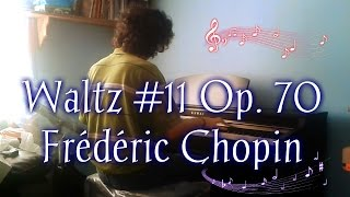 Vals (Waltz) Piano #11 In G Flat Op. 70 Mov. No. 1 - Frédéric Chopin.