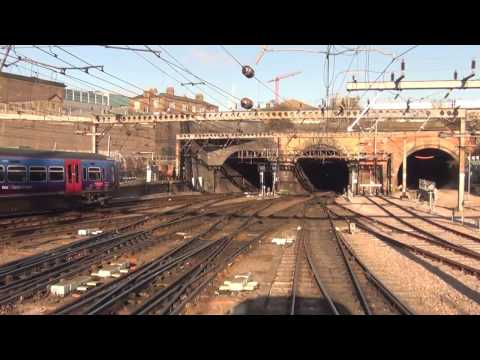 London Kings Cross To York-on Board An INTERCITY 225