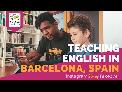Day in the Life Teaching English in Barcelona, Spain with Allen Tunstall