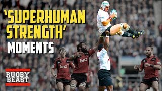 'Superhuman' rugby moments