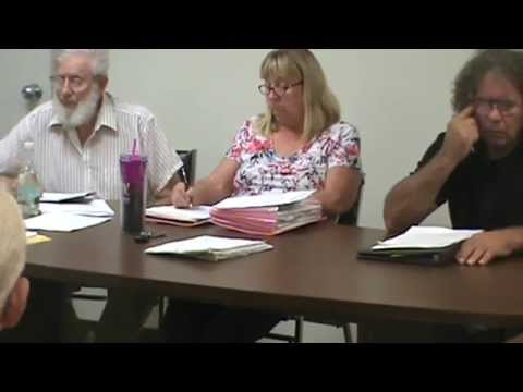 New Lisbon, NY September 8, 2015  Town Board Meeting